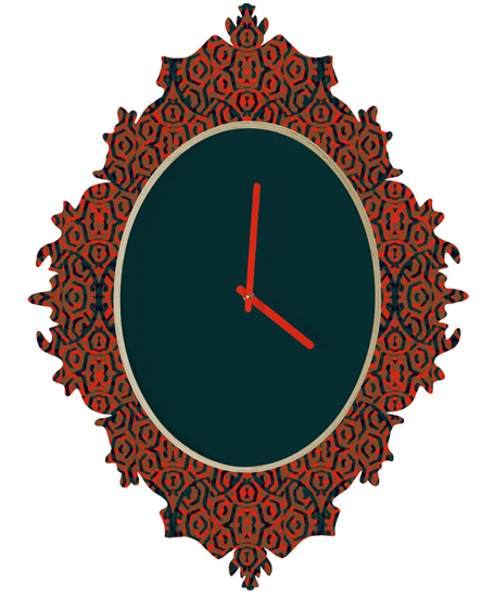 Damask 1 | relógio