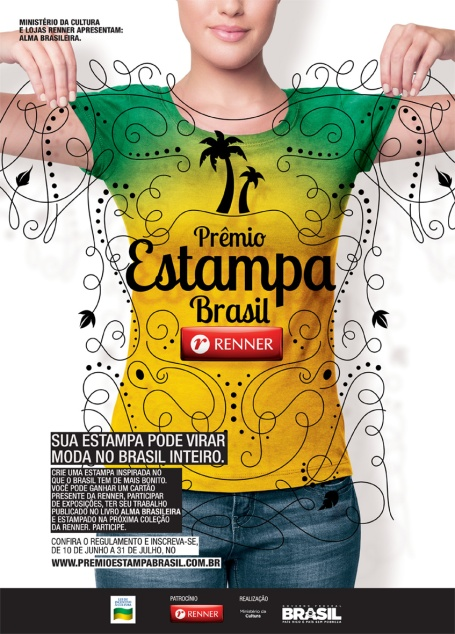 estampa brasil