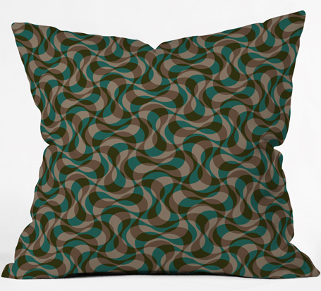 copacabana 2 | throw pillow | DENY Designs