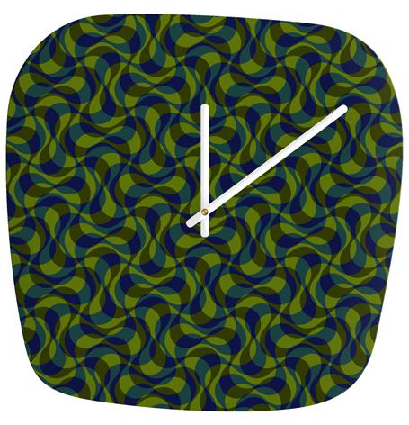 copacabana 4 |  modern clock | DENY Designs