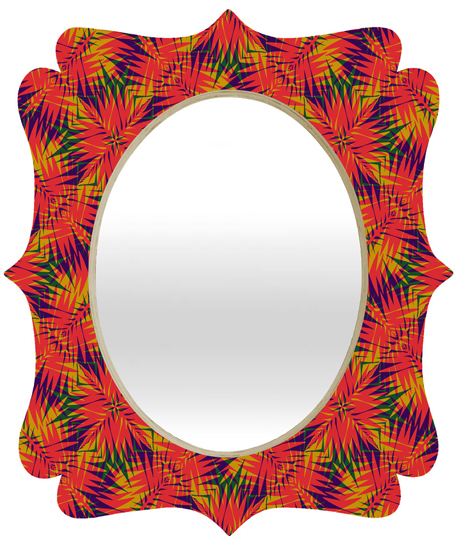 tropic 4| quatrefoil mirror | DENY Designs