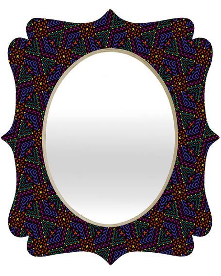 Africa 2 | Quatrefoil Mirror