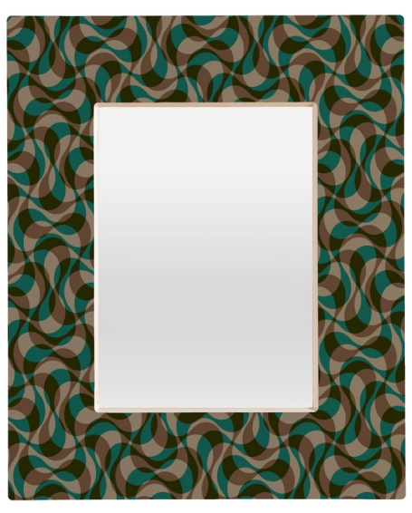 Espelho de parede retangular