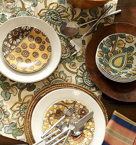 Louça e toalha de mesa | Pottery Barn