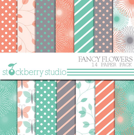 Papéis para scrapbooking | Stockberry Studio