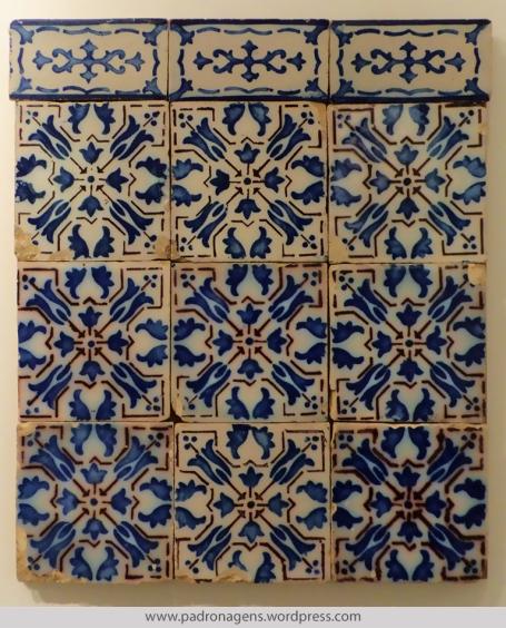 """Azulejos Franceses. Pas-de-Calais, Desvres, França. """"Maison Formaintraux Freres, Jules Formaintraux succ. Data: 1877"""