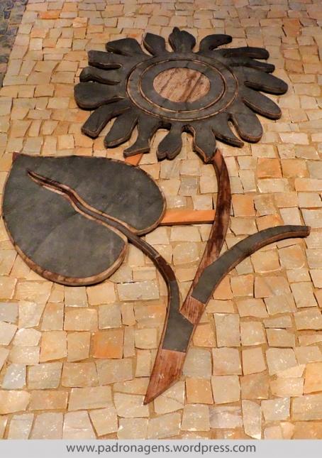 Molde em madeira. Acervo do depósito de moldes de Lisboa.