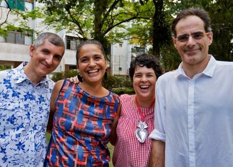 Eu, Dani Brum, Bebel Franco e Lula Rocha